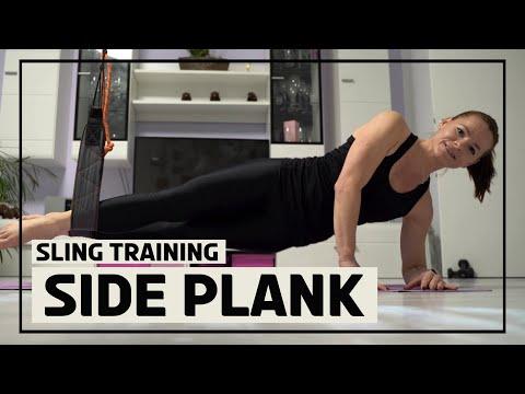 Side Plank mit dem Sling Trainer 2