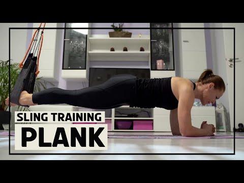 Planke mit dem Sling Trainer 2