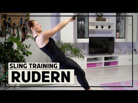 Rudern (Rowings) mit dem Sling Trainer 3