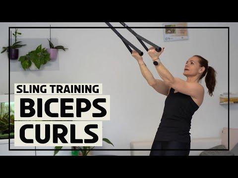 Biceps Curls mit dem Sling Trainer 2