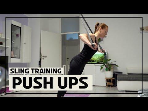 Sling Trainer Pushups 1