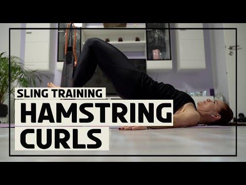 Hamstring Curls mit dem Sling Trainer 2
