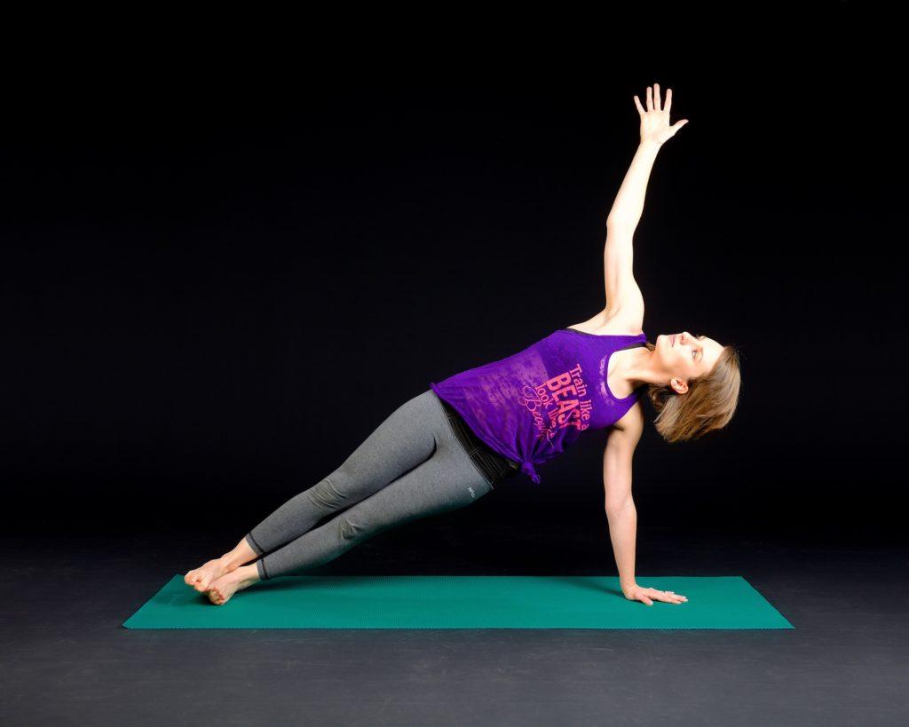 Side Plank mit dem Sling Trainer 1